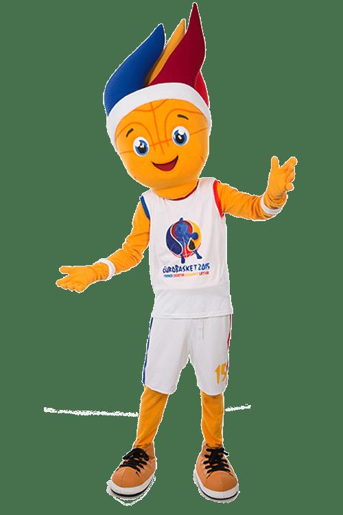 Frenkie: Das Maskottchen zur Basketball Europameisterschaft